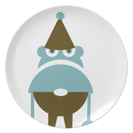Grumpy Gnome Dinner Plate