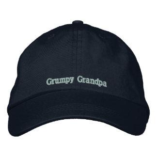 Grumpy Grandpa Embroidered Cap