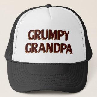 Grumpy Grandpa Trucker Hat
