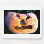 Grumpy Halloween Pumpkin Mousepads
