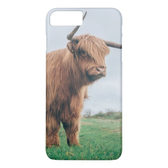 Grumpy Highland Cow iPhone 8 Plus / 7