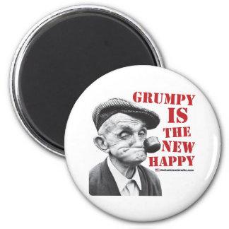 Grumpy is the new happy fridge magnets