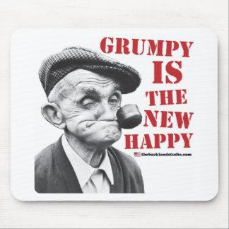 Grumpy is the new happy mouse mat