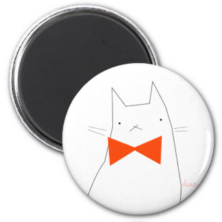 Grumpy Kitty 6 Cm Round Magnet