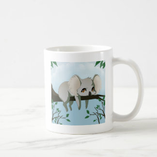 Grumpy Koala bear Basic White Mug