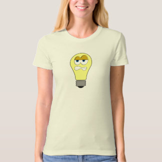 Grumpy Light Bulb T-Shirt