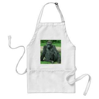 Grumpy Lowland Gorilla Standard Apron