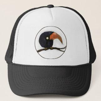 Grumpy Old Crow Roosting Trucker Hat