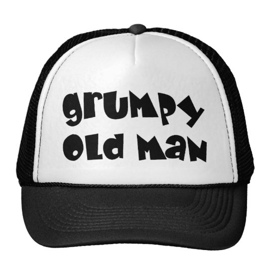 Grumpy old man cap
