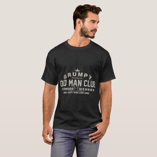 Grumpy Old Man Club Tshirt
