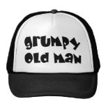 Grumpy old man mesh hats