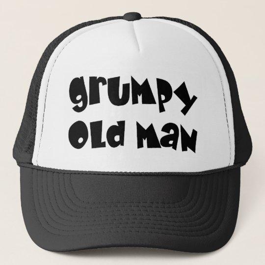 Grumpy old man trucker hat