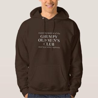 Grumpy Old Men's Club Hooded Sweatshirt