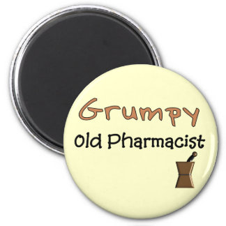 Grumpy Old Pharmacist T-Shirts and Gifts Magnet