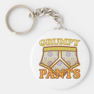 Grumpy Pants Key Ring