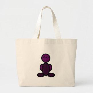 Grumpy (plain) jumbo tote bag