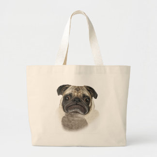 Grumpy Puggy Gifts Tote Bags