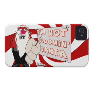 Grumpy Santa Blackberry Bold Barely There Case iPhone 4 Covers