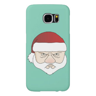 Grumpy Santa Samsung Galaxy S6 Cases