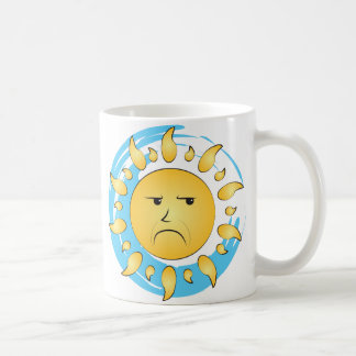 Grumpy Sun Mug
