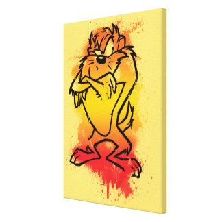 Grumpy TAZ™ Canvas Print