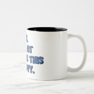 grumpy Two-Tone coffee mug