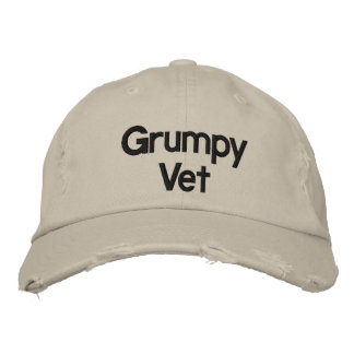 Grumpy Vets Embroidered Hat