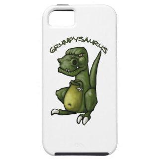 Grumpysaurus dinosaur being grumpy! iPhone 5 cases