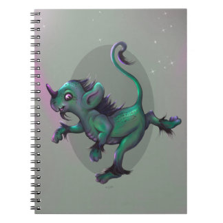 GRUNCH ALIEN CARTOON Photo Notebook (80 Pages B&W)