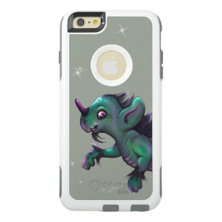 GRUNCH ALIEN OtterBox Apple iPhone 6 Plus White OtterBox iPhone 6/6s Plus Case