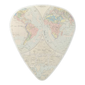 Grund u Boden - Soil Atlas Map Acetal Guitar Pick