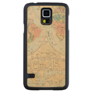 Grund u Boden - Soil Atlas Map Carved Maple Galaxy S5 Case