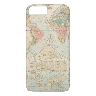 Grund u Boden - Soil Atlas Map iPhone 8 Plus/7 Plus Case