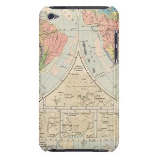 Grund u Boden - Soil Atlas Map iPod Touch Case-Mate Case