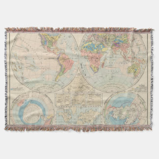 Grund u Boden - Soil Atlas Map Throw Blanket