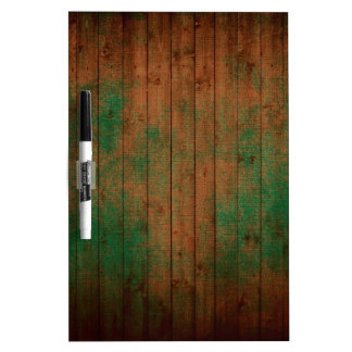 grundgy worn wood background dry erase board