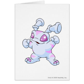Grundo Striped Greeting Card