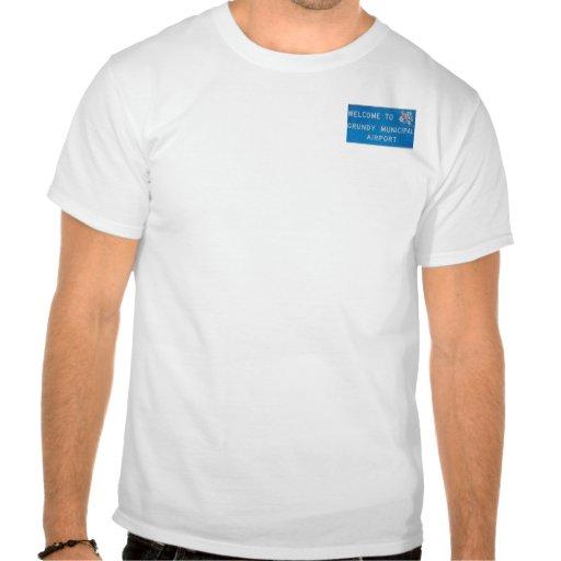 grundy airport tshirts