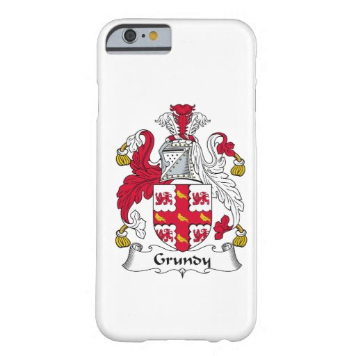 Grundy Family Crest iPhone 6 Case