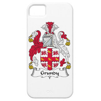 Grundy Family Crest iPhone 5 Cover