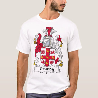 Grundy Family Crest T-Shirt