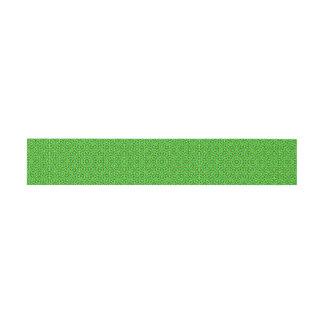 Grünes Netz Kaleidoscope/Green Kaleidoscope Net Invitation Belly Band