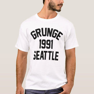 Grunge 1991 Seattle T-Shirt