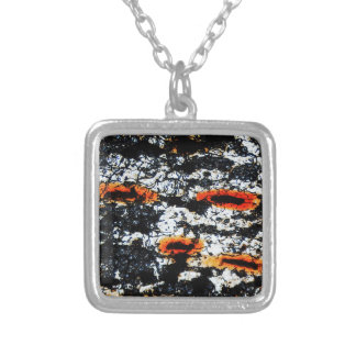 Grunge abstract background damaged onion cells necklaces