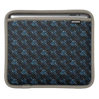 Grunge Abstract Checkerboard Rickshaw Sleeve Sleeves For iPads