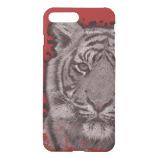 Grunge Abstract Tigers iPhone 7 Plus Case