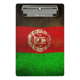 Grunge Afghanistan Flag Mini Clipboard