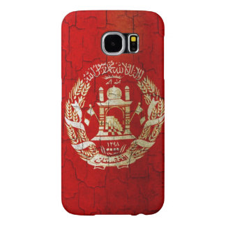 Grunge Afghanistan Flag Samsung Galaxy S6 Cases
