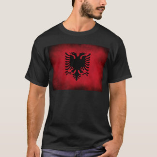 Grunge Albanian Flag [High Quality] T-Shirt