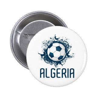 Grunge Algeria 6 Cm Round Badge